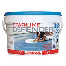 затирка LitoCHROM Starlike Defender C.520  1,0 кг  AVORIO